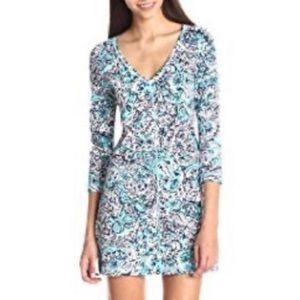 Lilly Pulitzer Juliet Fitted V-Neck T-Shirt Dress